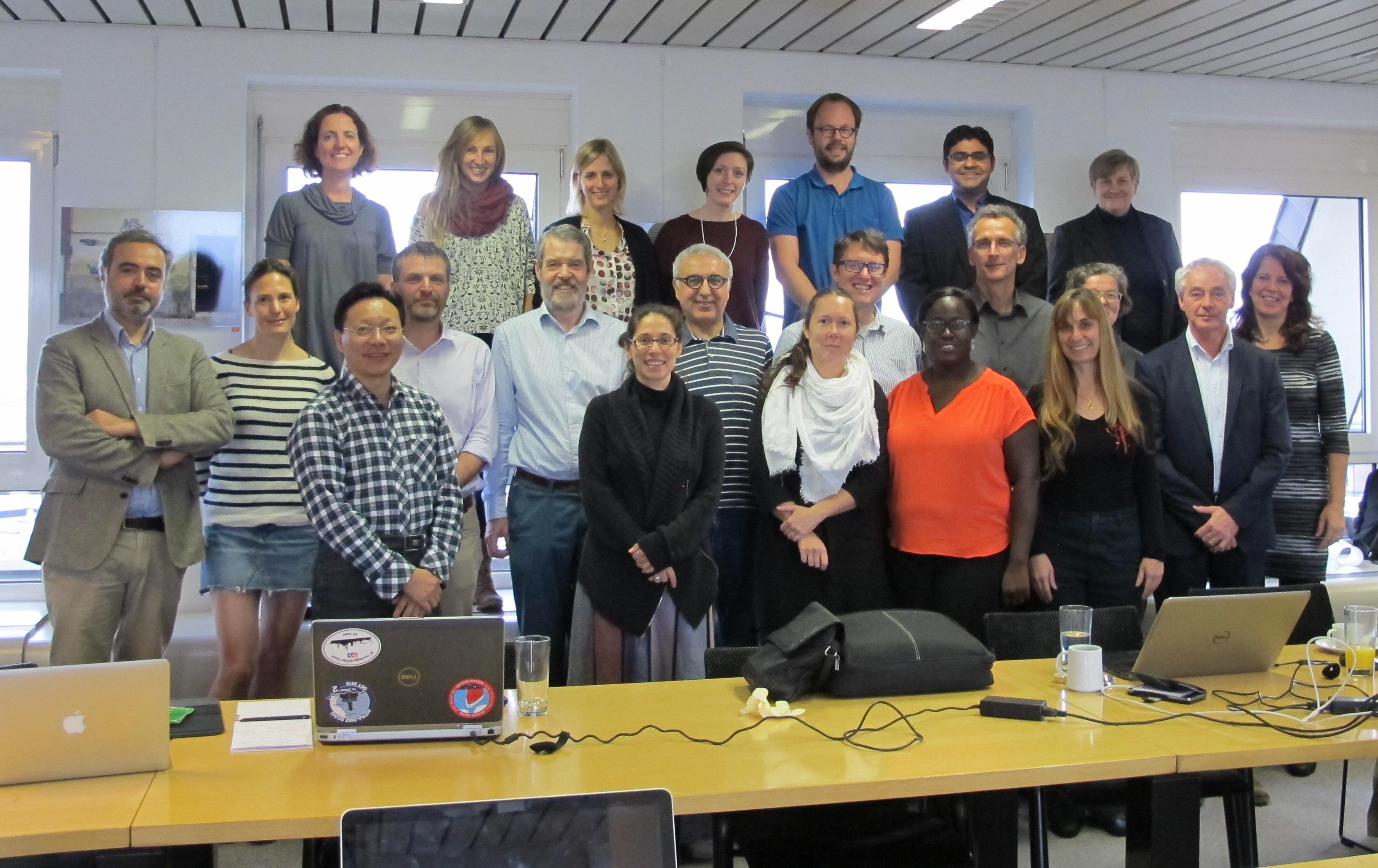 List of Partnership Steering Committee members