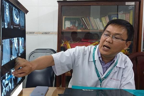 Bác sĩ chuyên khoa cột sống Trần Quang Hiển