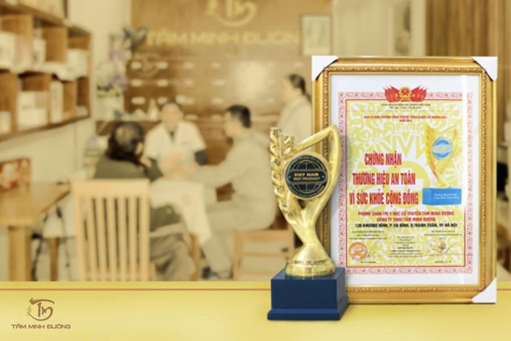 An Cốt Nam giúp nhà thuốc Tâm Minh Đường đạt giải thưởng