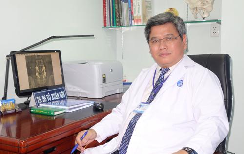 Bác sĩ chuyên khoa cột sống Võ Xuân Sơn