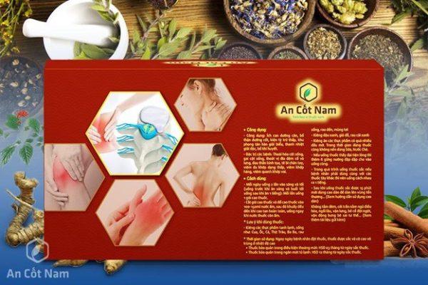 Bài thuốc An Cốt Nam điều trị phình lồi đĩa đệm