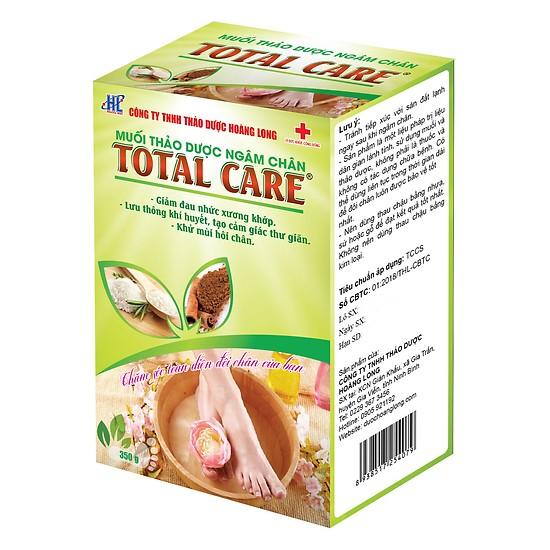 Muối ngâm chân thảo dược Total Care TTC_350