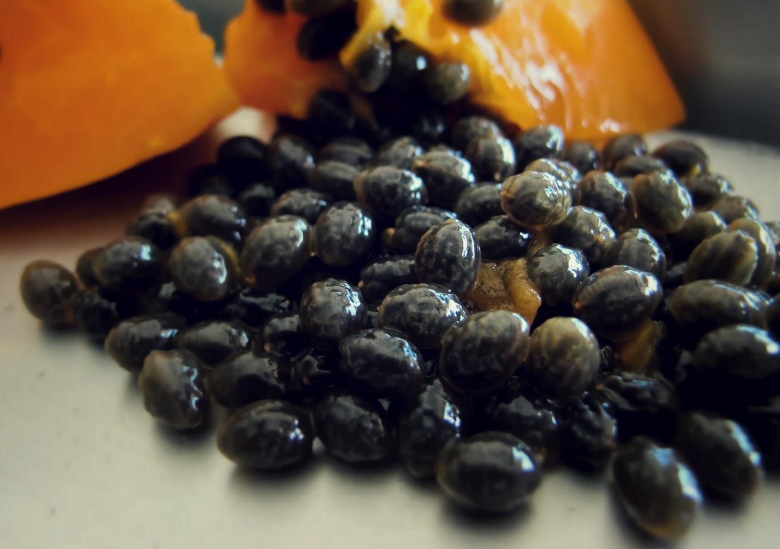 hạt đu đủ trị gai cột sống