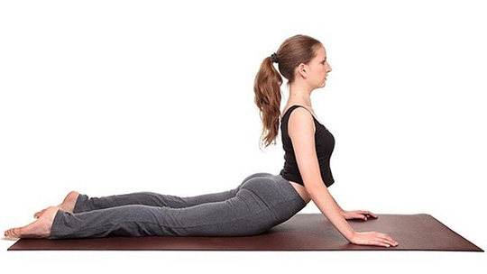 chữa viêm khớp bằng yoga