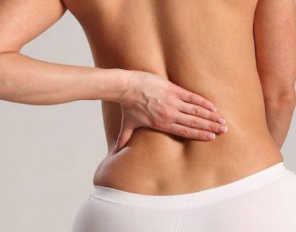 đau dọc cột sống lưng