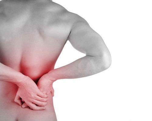 chữa đau lưng bên phải