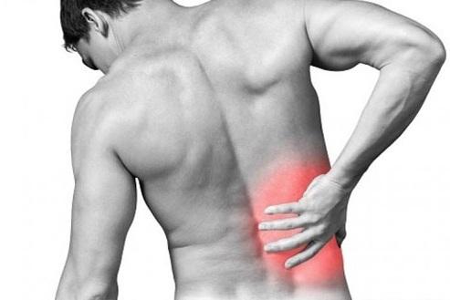đau lưng bên phải