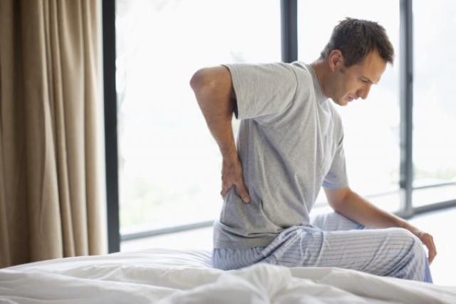 đau lưng khi ngủ dậy