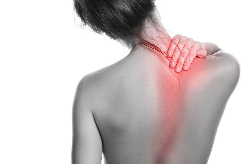 đau mỏi lưng trên