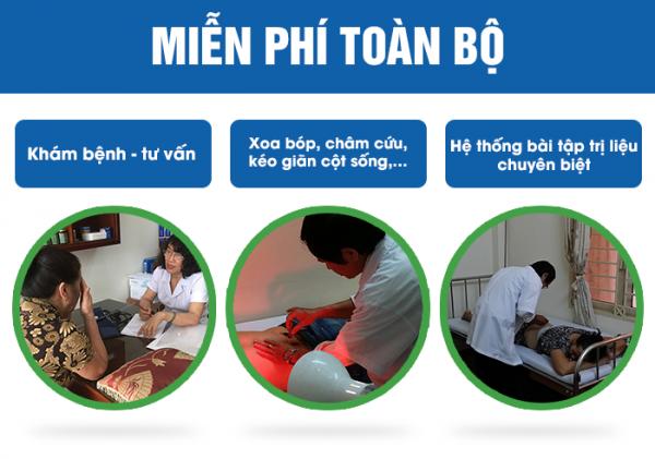 Bệnh nhân sử dụng An Cốt Nam được miễn phí các dịch vụ