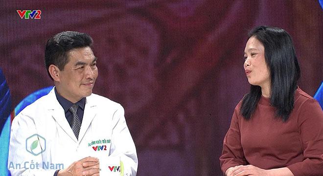 Th.Bs Hoàng Khánh Toàn chia sẻ về bài thuốc An Cốt Nam trên sóng VTV2