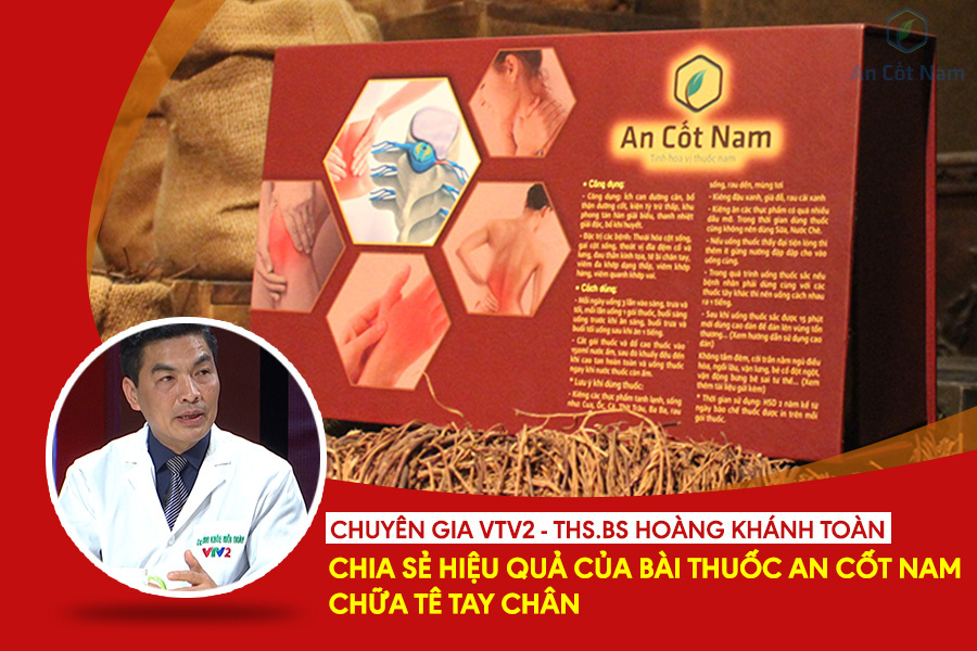 VTV2: Bác sĩ viện 108 đánh giá cao An Cốt Nam trong việc điều trị tê chân