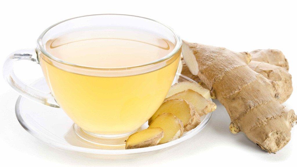 chữa trào ngược dạ dày bằng trà gừng