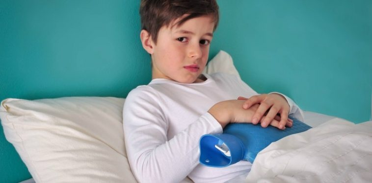 nguyên nhân đau dạ dày ở trẻ em