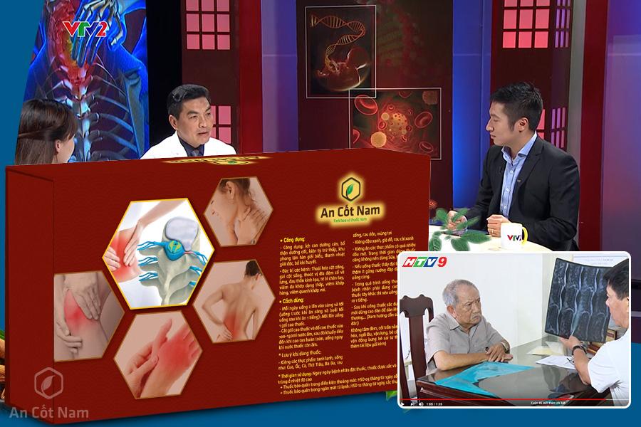 An Cốt Nam vinh dự được xuất hiện trên đài truyền hình