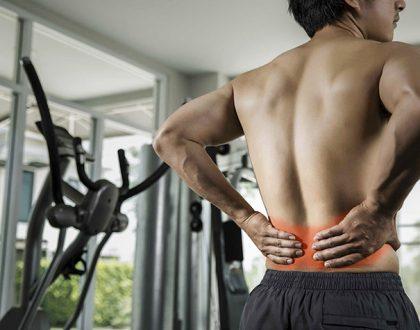 đau lưng có nên tập gym