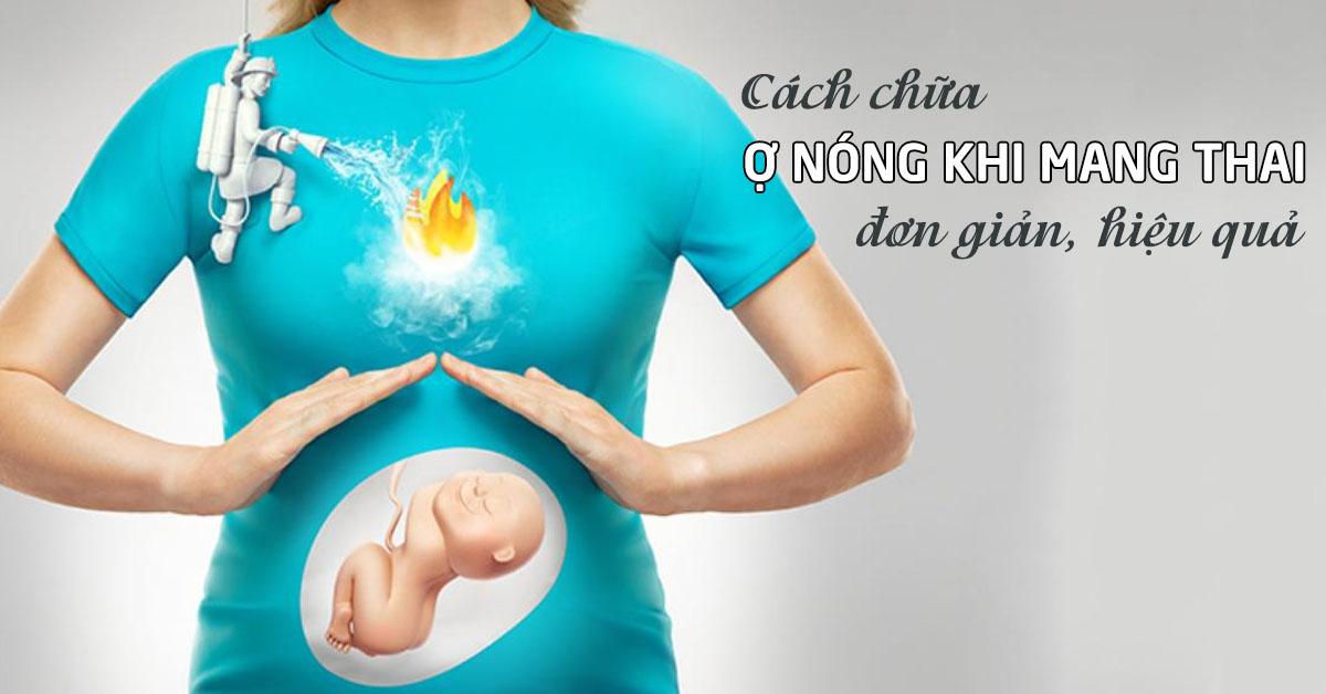 cách chữa ợ nóng khi mang thai