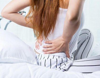 đau lưng sau hút thai