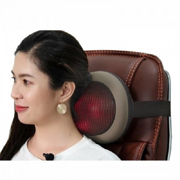 Gối massage hồng ngoại là một sản phẩm không hề xa lạ đối với nhiều người ở nước ta.