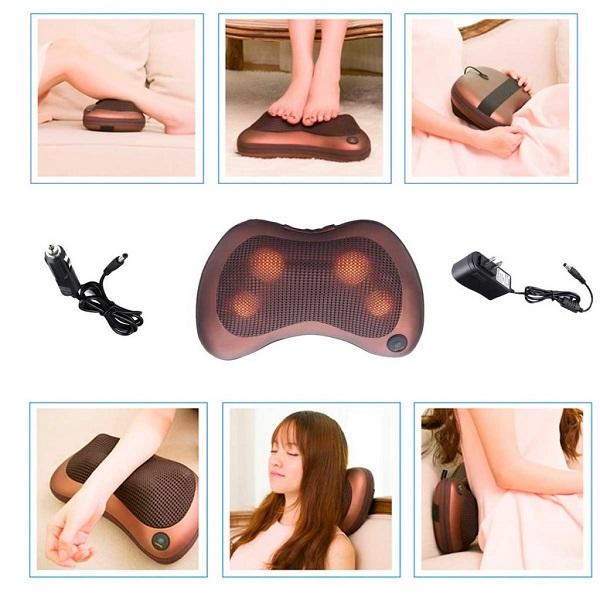 Máy massage đấm lưng hồng ngoại LH8013 Car&Home