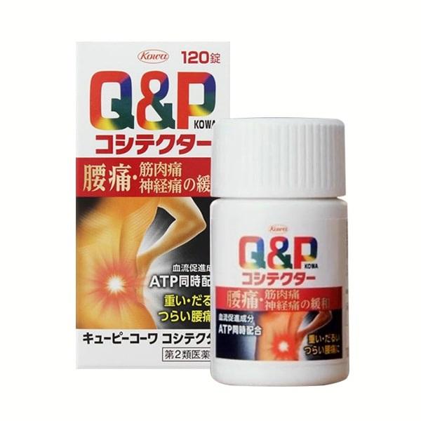 Thuốc đau lưng của Nhật Q&P Kowa