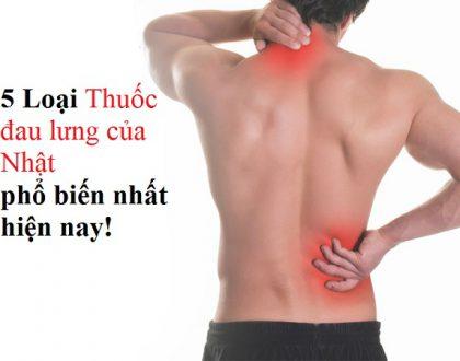 Thuốc đau lưng của nhật