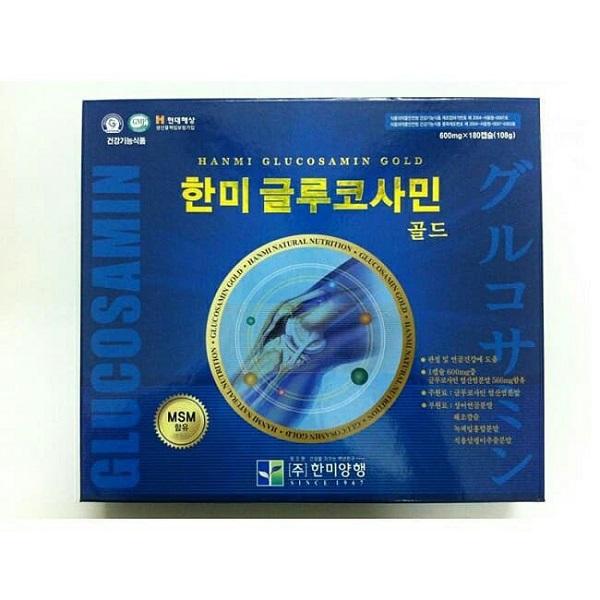 Thuốc xương khớp Hàn Quốc Glucosamin Gold