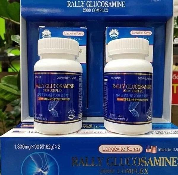 Thuốc xương khớp Hàn Quốc Rally Glucosamin