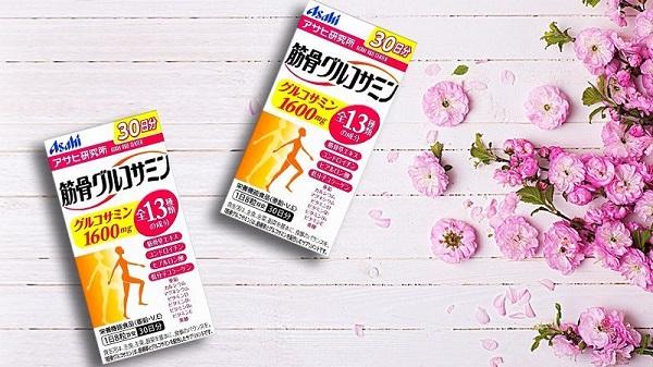 Sản phẩm hỗ trợ điều trị xương khớp Glucosamine Chondoitin Asahi đến từ Nhật Bản