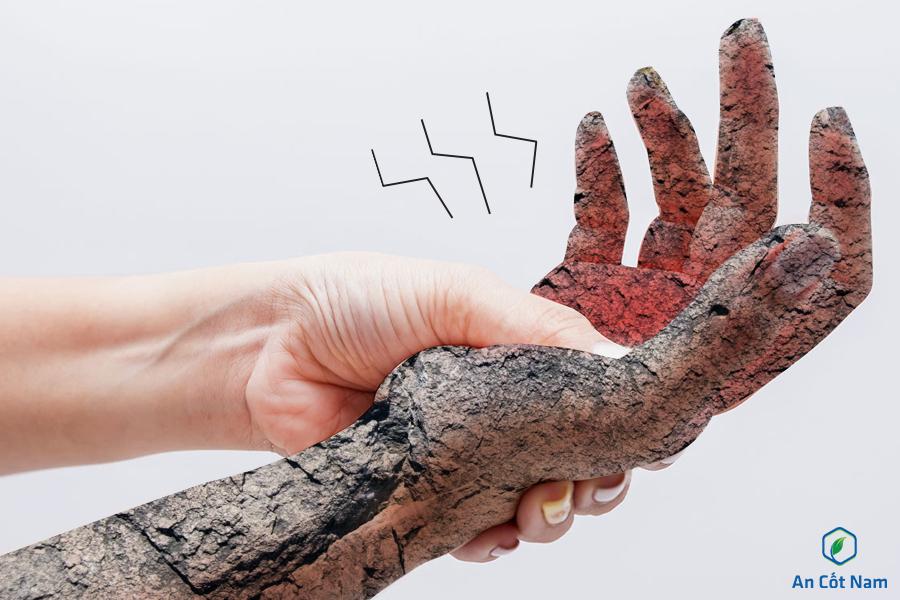 tê chân tay