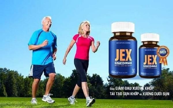 Thuốc xương khớp JEX được sản xuất bởi một công ty ở Mỹ