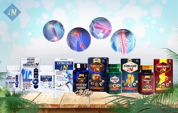 Bộ sản phẩm XƯƠNG KHỚP BN được sử dụng cho các đối tượng mắc phải một vài bệnh lý về xương khớp.