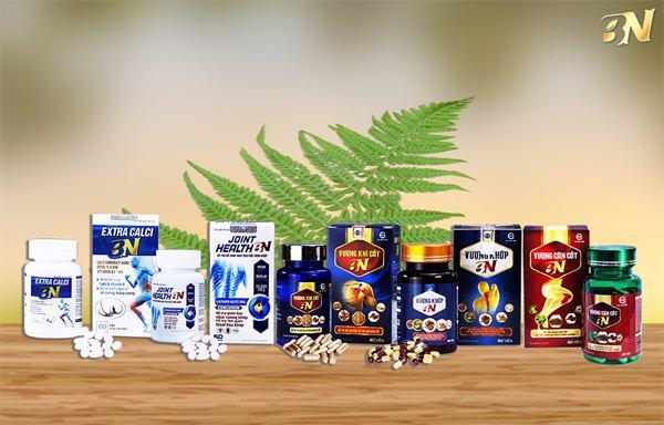 XƯƠNG KHỚP BN do công ty BN chịu trách nhiệm phân phối và sản xuất.
