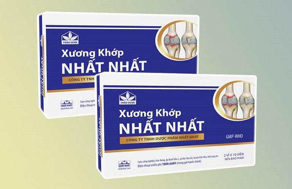 Xương khớp Nhất Nhất có giá thành không quá đắt so với một vài loại thuốc xương khớp khác trên thị trường.