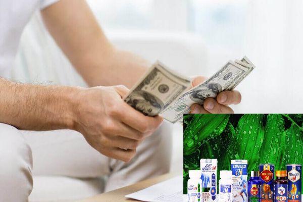 Bộ sản phẩm XƯƠNG KHỚP BN có giá bao nhiêu?