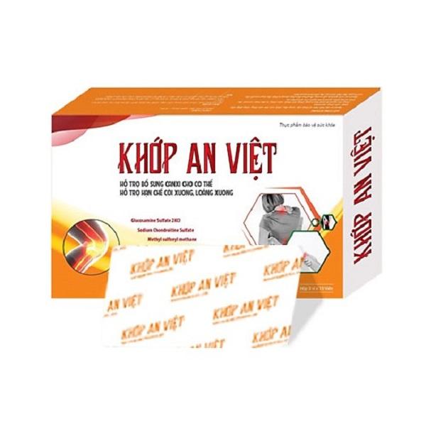 khớp an việt có nguồn gốc xuất xứ ở Việt Nam và được bào chế từ nhiều thảo dược thiên nhiên.