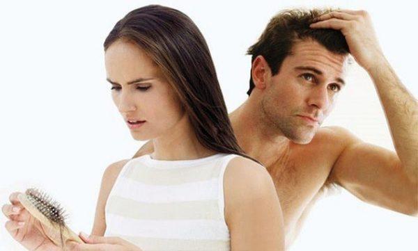 Thận yếu gây rụng tóc