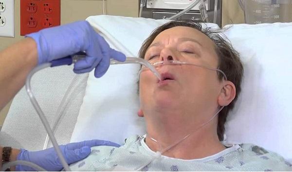 Hút đờm rãi - Chăm sóc bệnh nhân viêm phế quản