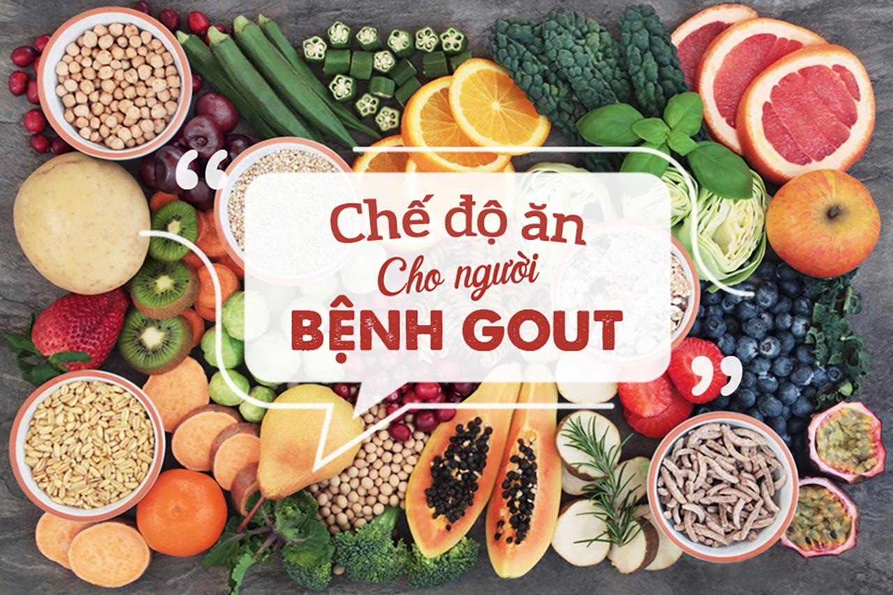 Chế độ ăn liên quan đến bệnh gút