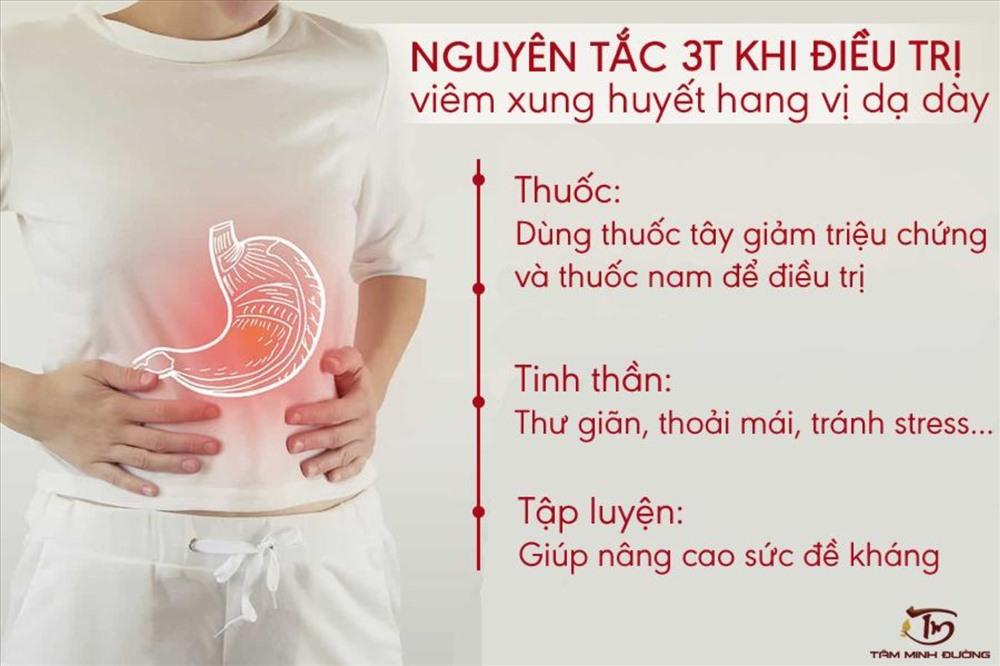 điều trị viêm xung huyết hang vị mức độ nhẹ