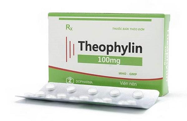 thuốc hen phế quản theophylin