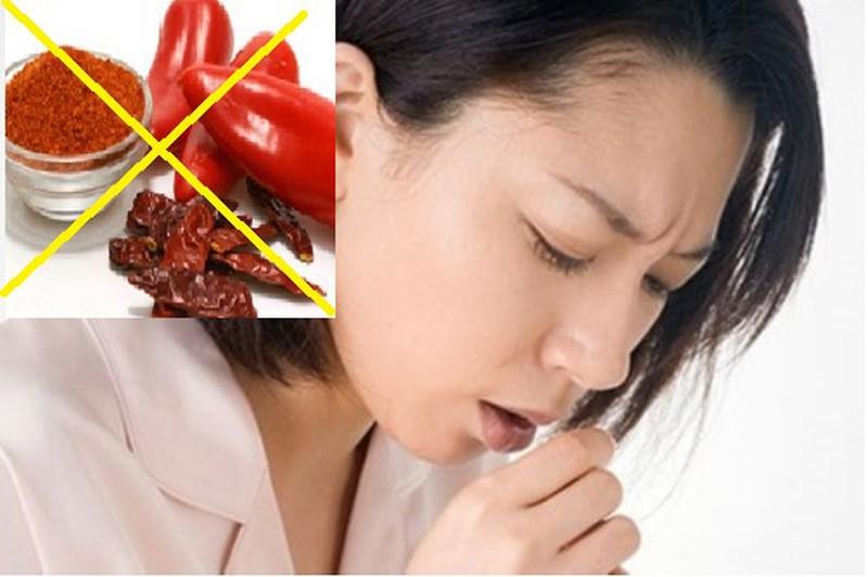 Bị ho có đờm kiêng ăn gì?