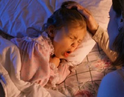 Ho khan về đêm ở trẻ