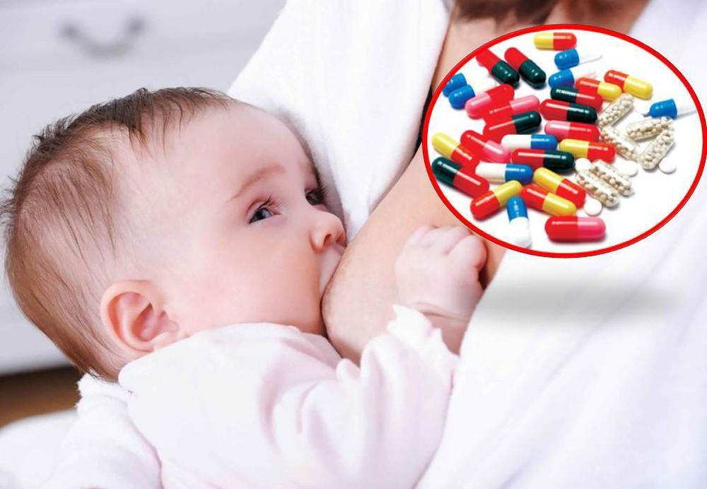 Mẹ cho con bú uống thuốc ho gì?