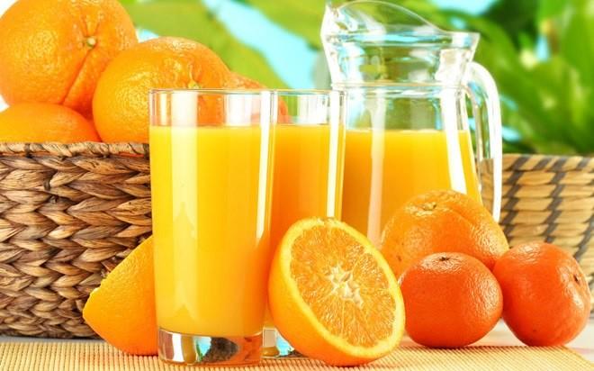 Tác dụng tuyệt vời của nước cam