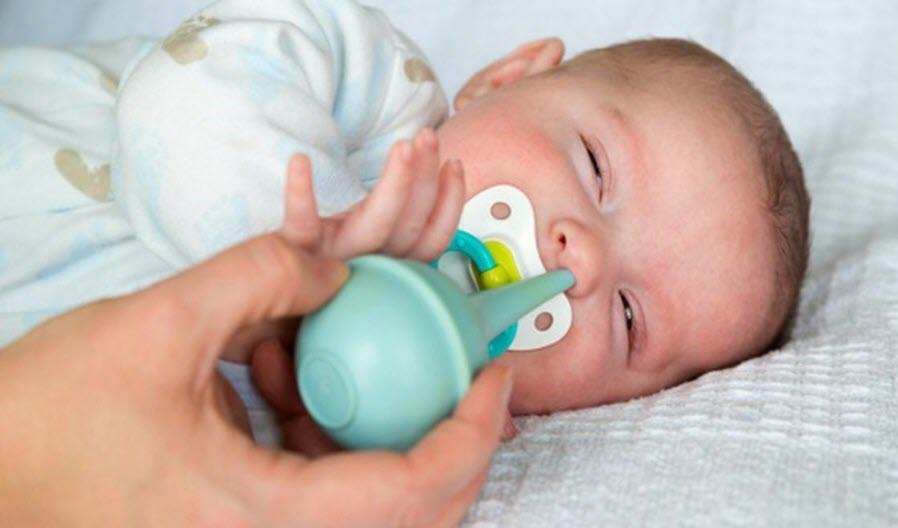 Cách trị đờm trong mũi cho trẻ em