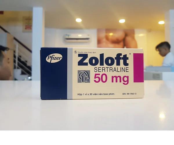 Điều trị xuất tinh sớm bằng thuốc zoloft