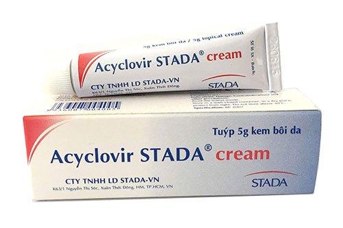 Thuốc acyclovir trị giời leo