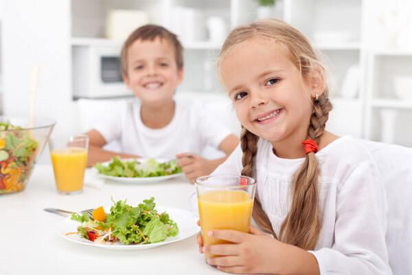 Những thực phẩm tốt cho trẻ bị hen